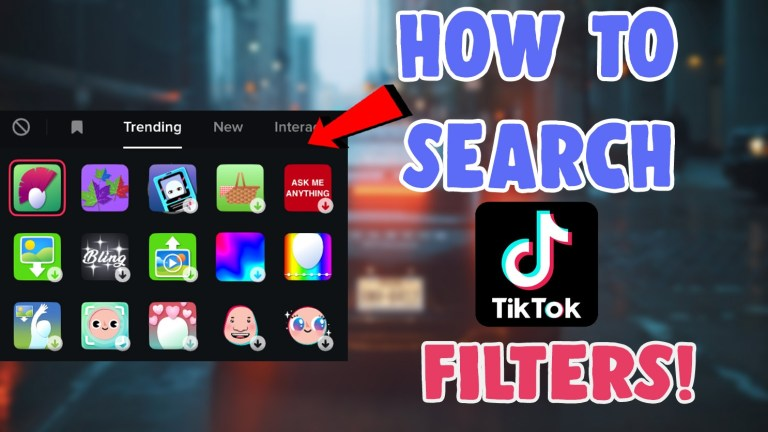how to search for filters effects on tiktok see what filter someone used on tiktok