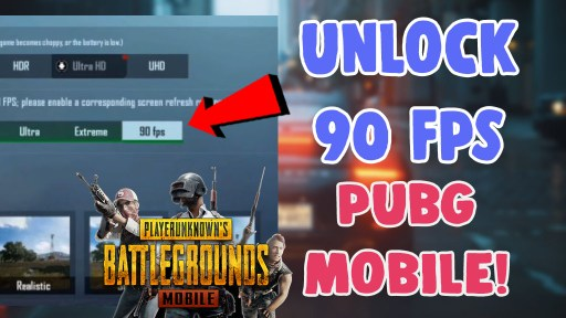 how to unlock 90 fps in pubg mobile