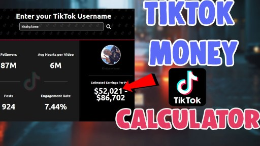how to use exolyt tiktok money calculator