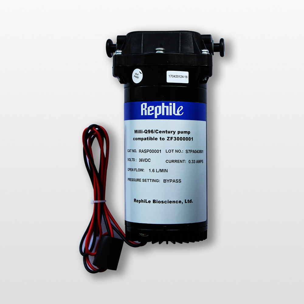 RO Booster Pump, replacing Millipore ZF3000001