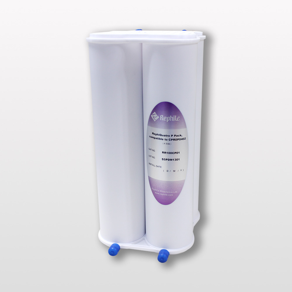 RephiQuatro P Pack, replacing Millipore ROPAK CPR0P0P02