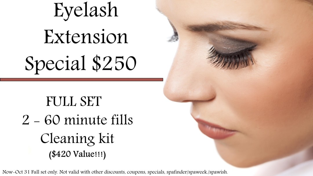 Lash Extension Special Salus Massage Therapy