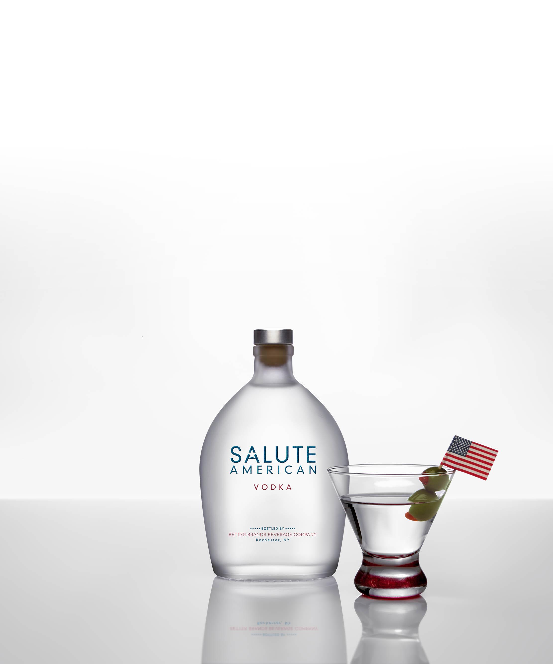 Photos Salute American Vodka