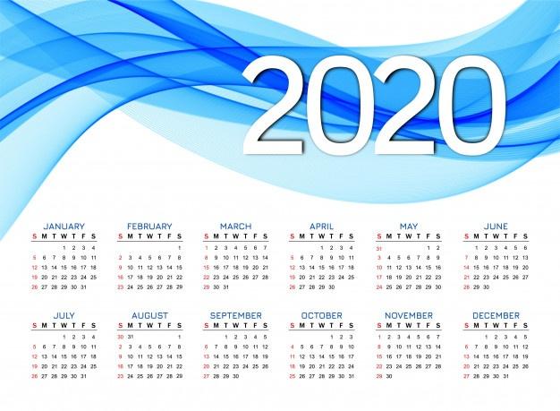calendario2020