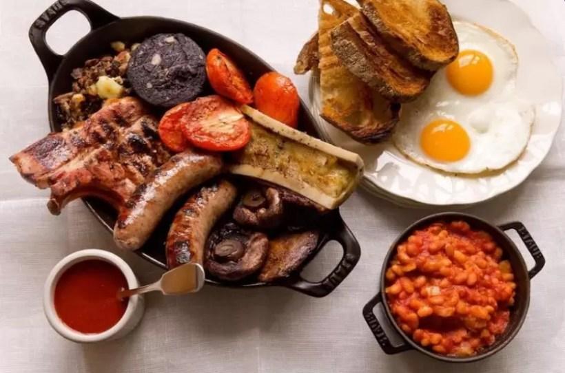 hawksmoor breakfast