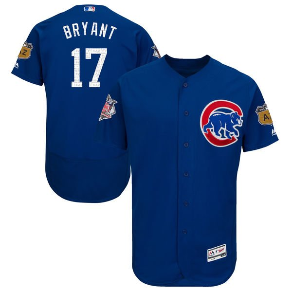 2017 mlb spring training jerseys, 2017 cubs spring training jersey, kris bryant spring training jersey