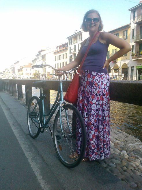 Aan het Naviglio Grande