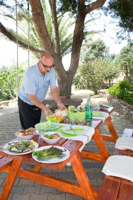 Sardinie lunch bij Ecolounge Sardinia