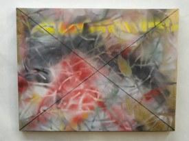 Impermanence ~Acrylic,Spray Paint on Canvas~18X14