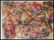 Abtstract Tuesday~Mixed Media on Canvas~24X18