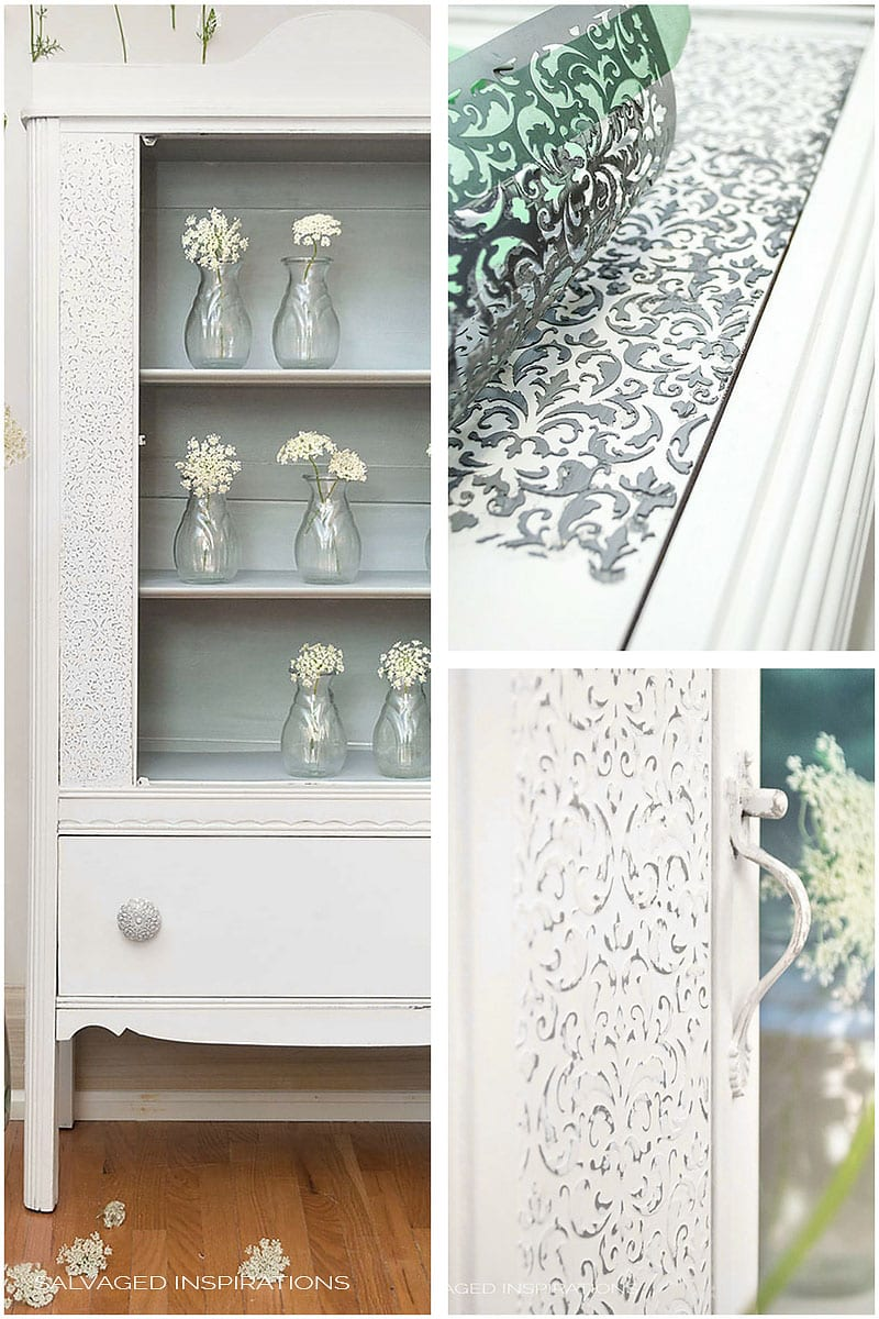 How To Create Raised Stencil Design Salvaged Inspirations