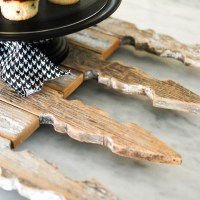Picket Fence Serving Tray