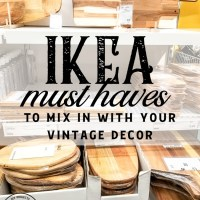 IKEA Must Haves to Mix With Your Vintage Style