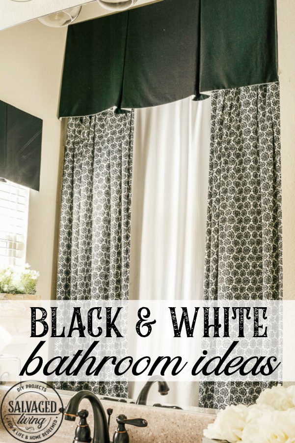 black and white bathroom ideas for teen