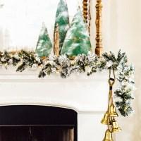 Christmas Mantel Decor On A Budget
