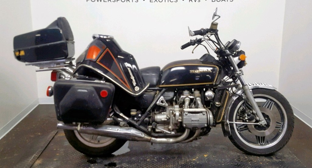 Find Salvage Honda Gullwing Classic Bikes at Auctions