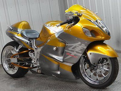 Neat salvage motorcycle for sale