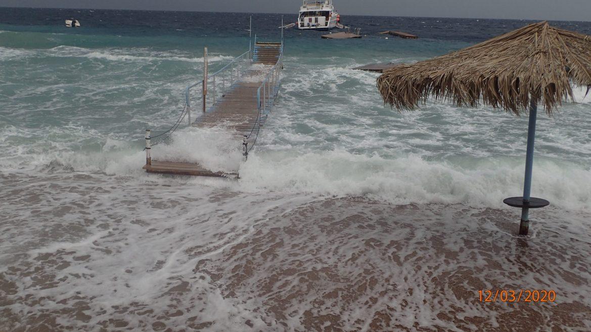 Te veel wind om te duiken