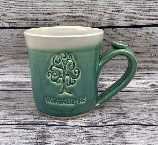 Custom Logo Personalized tree green mug