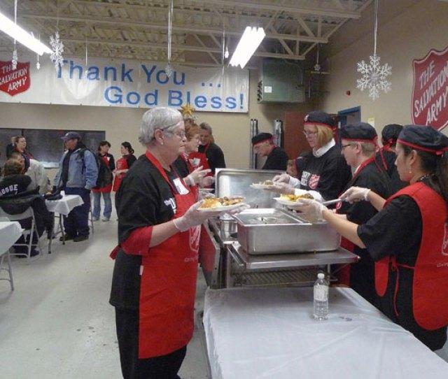 Edmonton Community Christmas Dinner Serves
