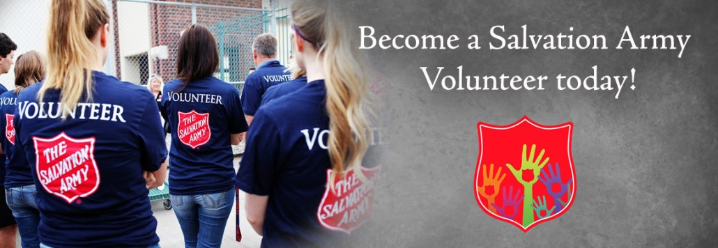 Become a Volunteer with the Salvation Army