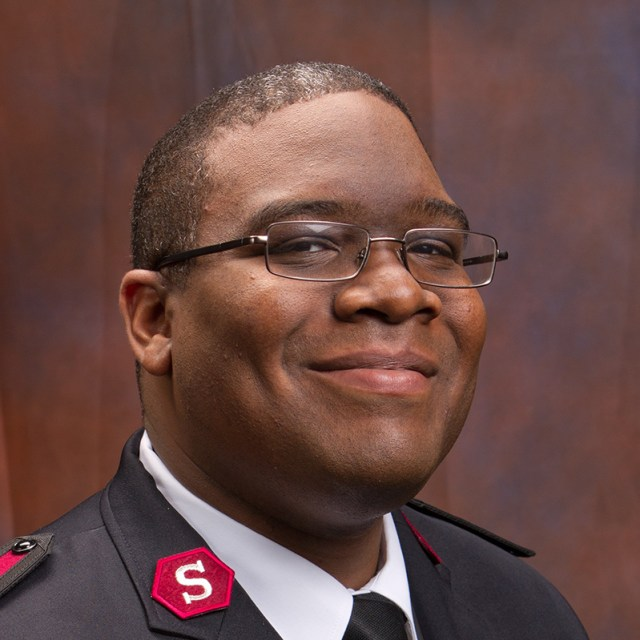 Captain Brandon Mason WPB Corps Officer Pastor