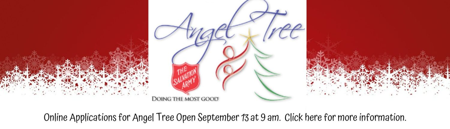Angel Tree Registration Announcement Manatee County