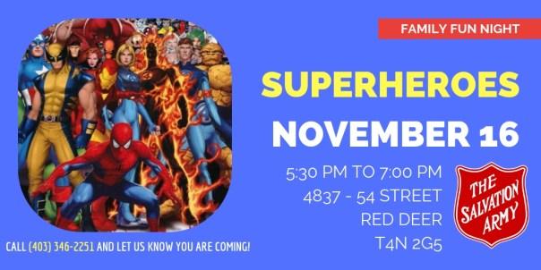 Super-Heroes FFD 2018