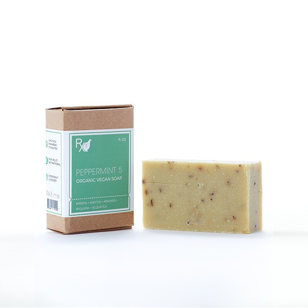 Peppermint 5 Bar Soap
