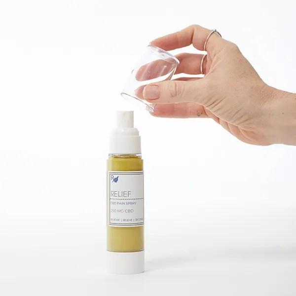 Relief CBD Pain Spray Small