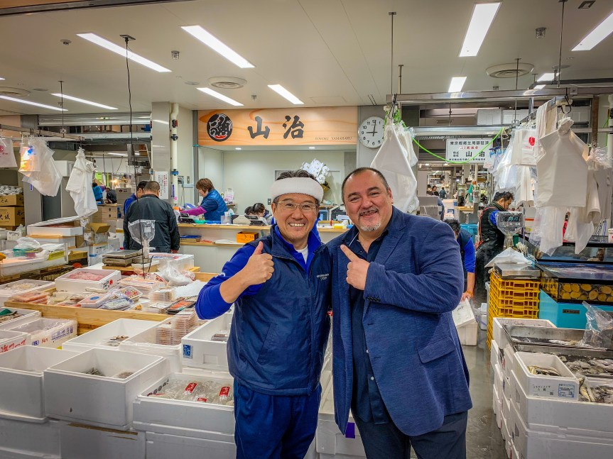 Tokyo: The New Fish Market Opening!!