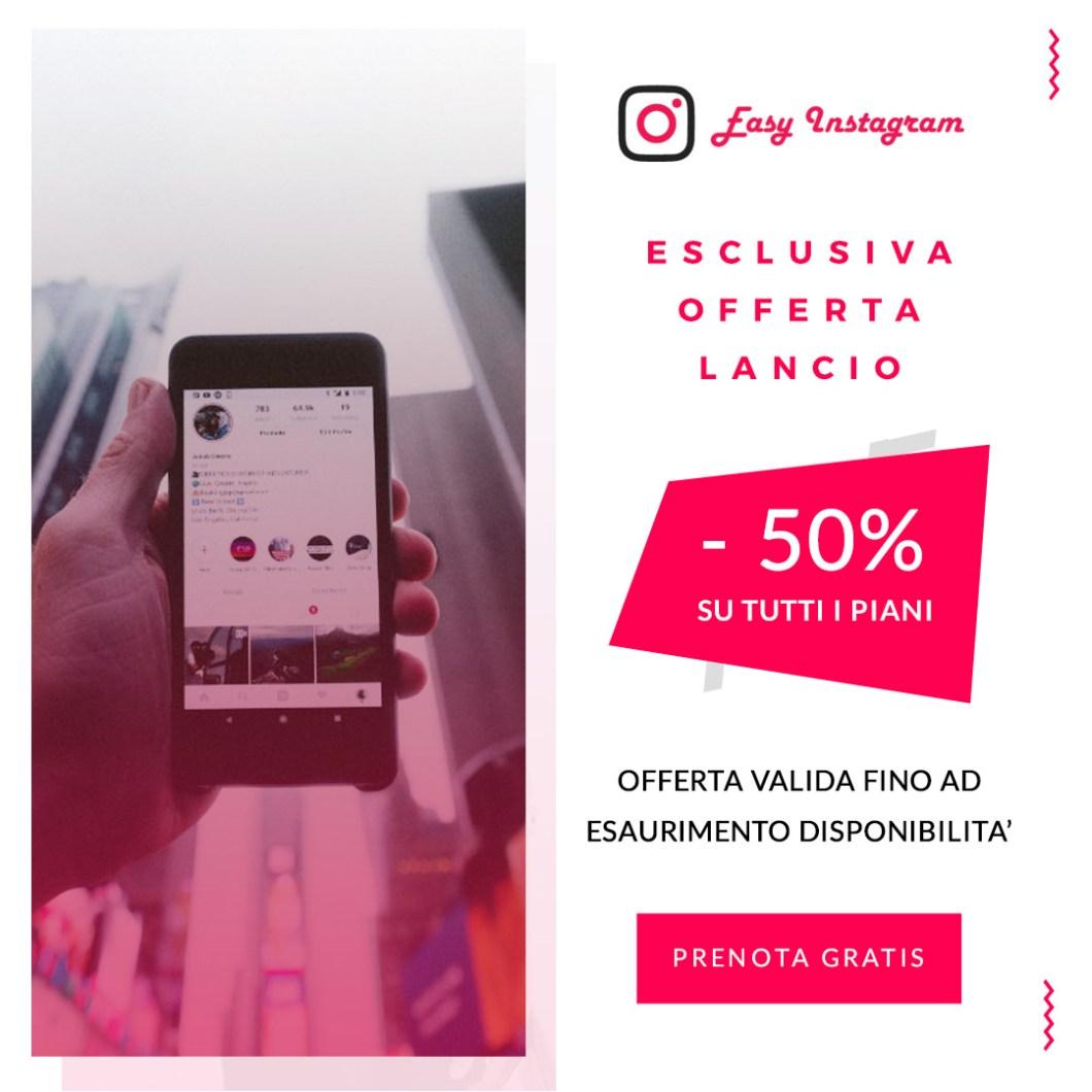 Eesy Instagram Servizio crescita instagram