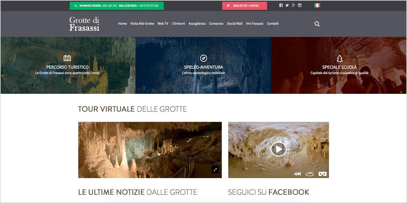 sito web grotte frasassi