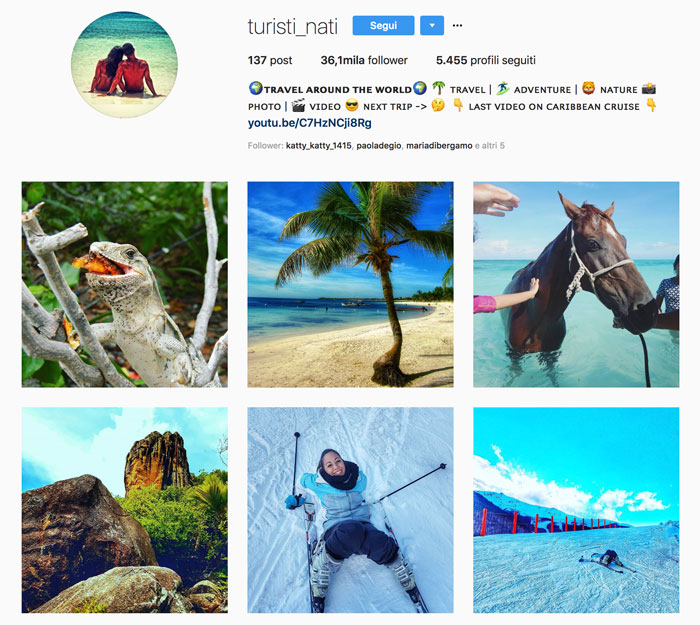 Guadagnare soldi come travel blogger su Instagram