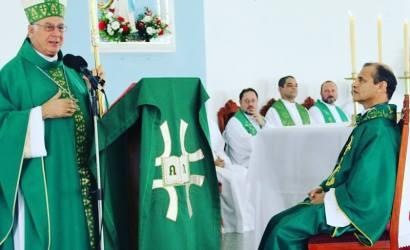 Posse do Pároco Pe. Waldenir na Paróquia N.Sra. de Lourdes