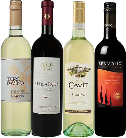 Lineup of summer wines