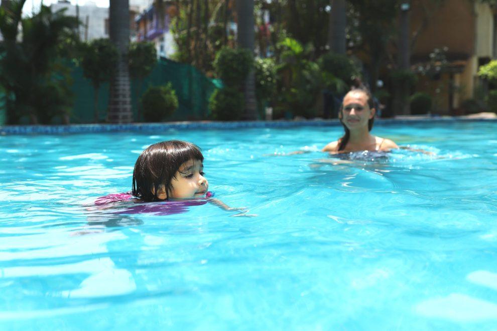 Beat The Heat In Large Swimming Pool At Narayana Palace