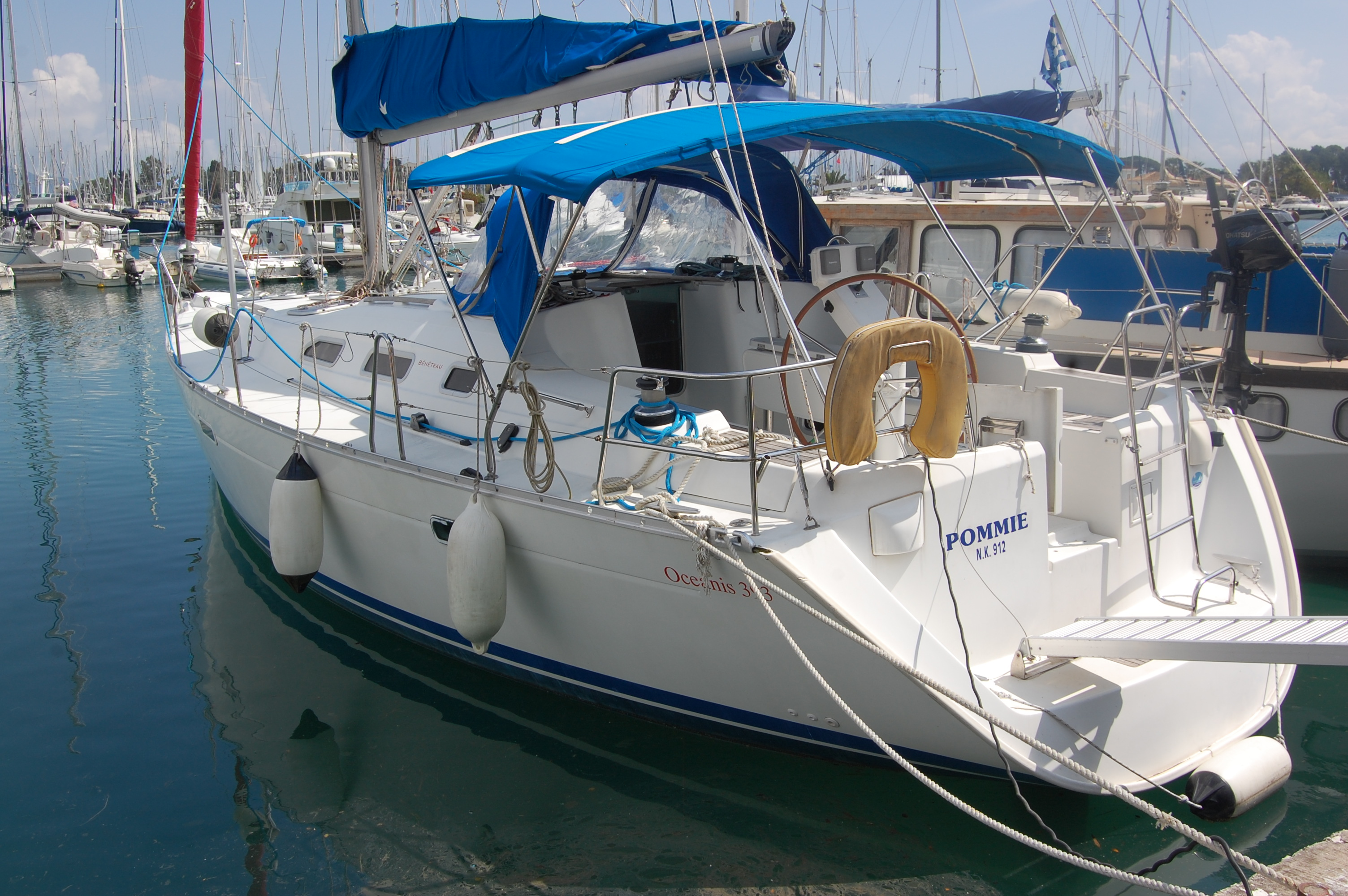 Beneteau Oceanis 393 Clipper Yachts For