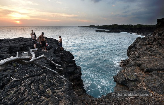 The end of the World. Big Island