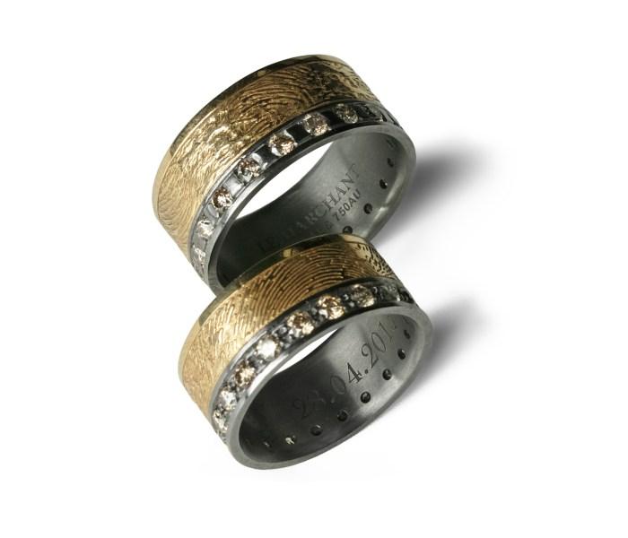 Salzburger Juwelierwaren KREMO kreativ modern Juwelier Salzburg Tantal Ringe Tantalum Trauringe sind einfach etwas Besonderes… GoldPrint03
