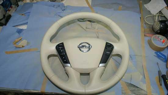 restore a steering wheel