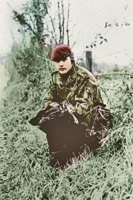 Garden of Remembrance Gary David Bingley 2nd Battalion The Parachute Regiment