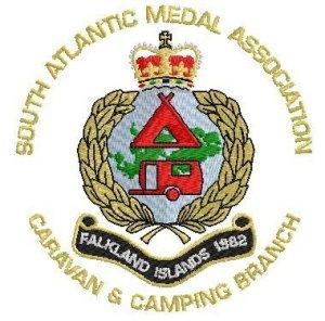 shop SAMA Camping & Caravan Branch Embroidered Badge