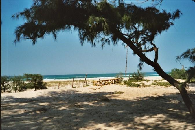La plage de l'Oasis