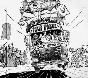 Tout passe (Dieu merci) - Illustration de Mohiss