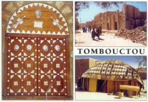 Carte postale de Tombouctou