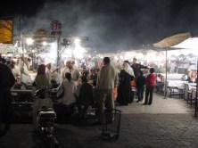 Place Jemaa el-Fna, premier soir