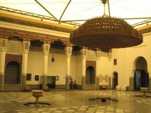 Cour du musée de Marrakech