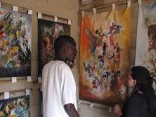 Un artiste et ses toiles