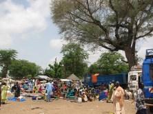 Marché de M'Bafaye à midi